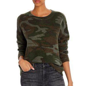 Rails NWT Wool Perci Pullover Sweater Jungle Camo